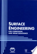 Surface Engineering For Corrosion And Wear Resistance Book PDF