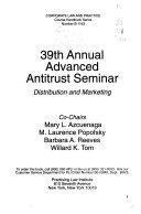 Annual Advanced Antitrust Seminar
