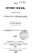 Large hymn book, for the use of the Primitive Methodists, by H. Bourne ebook