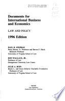 International Business and Economics