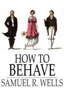 How to Behave Pdf/ePub eBook