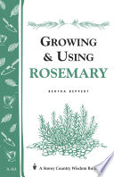 Growing   Using Rosemary Book PDF