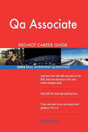 Qa Associate Red Hot Career Guide  2593 Real Interview Questions
