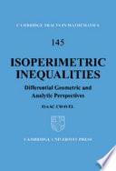 Isoperimetric Inequalities Book PDF