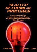 Scaleup Of Chemical Processes Book PDF