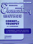 Rubank Elementary Method - Cornet Or Trumpet