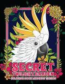 Secret Twilight Garden Coloring Book Midnight Edition