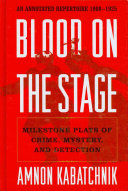 Free Blood on the Stage Read Online