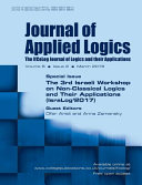 Journal of Applied Logics   The IfCoLog Journal of Logics and Their Applications