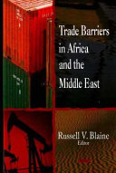 Trade Barriers In Africa And The Middle East Book PDF