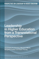 Leadership in Higher Education from a Transrelational Perspective
