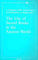 The Use of Sacred Books in the Ancient World