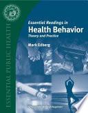 Essential Readings In Health Behavior Book PDF