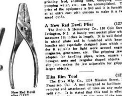 [1917 Notice for Red Devil Pliers]
