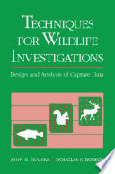 Techniques in Wildlife Investigations Book