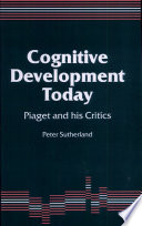 Cognitive Development Today