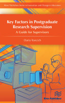 Key Factors in Postgraduate Research Supervision