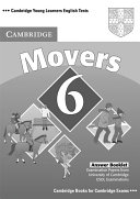 Cambridge Young Learners English Tests 6 Movers Answer Booklet