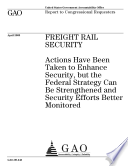 Freight Rail Security Book