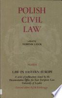 Polish civil law. 3
