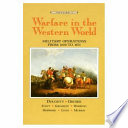 Warfare in the Western World: Military operations from 1600 to 1871