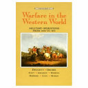 Warfare in the Western World  Military operations from 1600 to 1871
