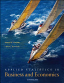 Applied Statistics in Business and Economics with St CDRom