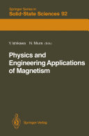 Physics and Engineering Applications of Magnetism Pdf/ePub eBook