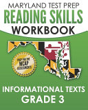 Maryland Test Prep Reading Skills Workbook Informational Texts Grade 3