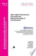 Ultra High Performance Concrete and Nanotechnology in Construction  Proceedings of Hipermat 2012  3rd International Symposium on UHPC and Nanotechnology for High Performance Construction Materials