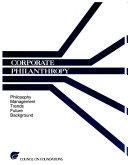Corporate Philanthropy Book