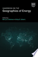 Handbook on the Geographies of Energy