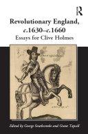 Revolutionary England, c.1630-c.1660 Pdf/ePub eBook