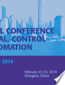 International Conference on Electrical  Control and Automation    ICECA 2014