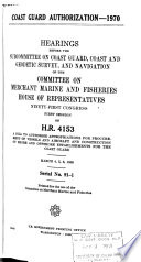 Hearings, Reports and Prints of the House Committee on Merchant Marine and Fisheries