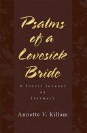 Pdf Psalms of a Lovesick Bride