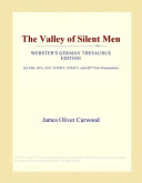 Pdf The Valley of Silent Men (Webster's German Thesaurus Edition)