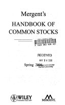Mergent s Handbook of Common Stocks Spring 2006