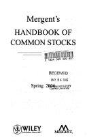 Mergent S Handbook Of Common Stocks Spring 2006 Book PDF