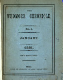 The Wedmore chronicle  ed  by S H A  Hervey