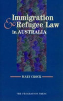 Immigration and Refugee Law in Australia