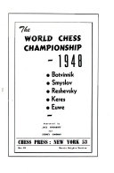 The World Chess Championship, 1948
