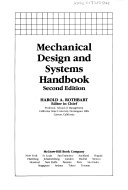 Mechanical Design and Systems Handbook