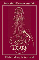 Diary of Saint Maria Faustina Kowalska   in Burgundy Leather