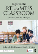Rigor in the RTI and MTSS Classroom