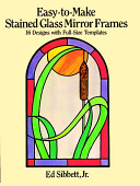 Easy to make Stained Glass Mirror Frames