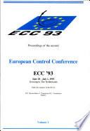 European Control Conference 1993