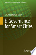E Governance For Smart Cities