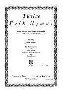 Twelve Folk Hymns