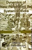 Dynamics of New Panchayati Raj System in India  Capacity building